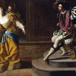 Artemisia Gentileschi. Ester e Assuero, 1628-1635. Olio su tela, cm 208,30 x 273,70. The Metropolitan Museum of Art, Dono di Elinor Torrance Ingersoll, 1969