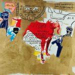 Jean-Michel Basquiat. Dog, 1984. Acrilico, inchiostro serigrafico, pastello a olio e olio su tela, cm 202,9 x 269,6. Mugrabi Collection