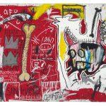Jean-Michel Basquiat. Do Not Revenge, 1982. Acrilico e stick a olio su tela, cm 132 × 213,3. Mugrabi Collection