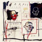 Jean-Michel Basquiat. Senza titolo, 1981 Olio, pastello a olio e aerografo su tela, cm 130,2 x 142,9. Mugrabi Collection