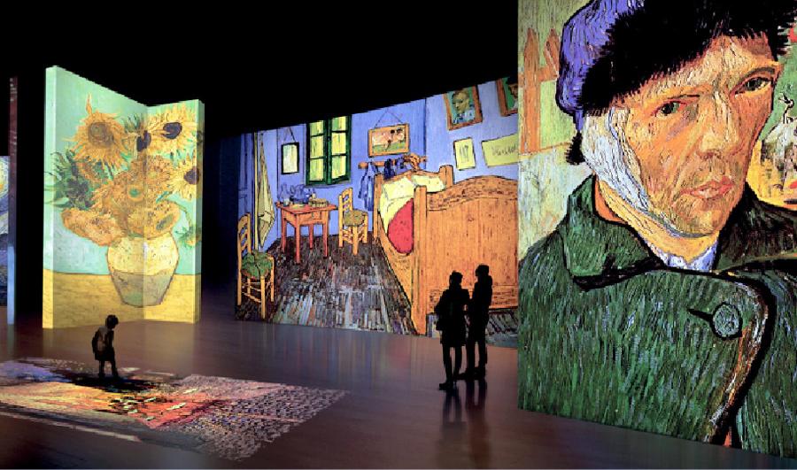 Van Gogh Alive. Roma