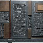 Arnaldo Pomodoro. Grande tavola della memoria, 1959-1965. Piombo, bronzo, legno e stagno, cm 225 x 325 x 60 (foto Giorgio Boschetti)