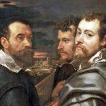 Peter Paul Rubens. Autoritratto con amici a Mantova, 1602-1604 olio su tela, cm 77,51×161. Wallraf-Richartz Museum, Colonia