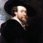 Peter Paul Rubens. Autoritratto dell'artista, 1623-25. Galleria degli Uffizi, Firenze
