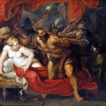 Peter Paul Rubens. Cattura di Sansone, 1614-20. Olio su tela, cm 118×132. Alte Pinakothek, Bayerische Staatsgemäldesammlungen, Monaco