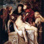Peter Paul Rubens. Compianto sul corpo di Cristo deposto o Sepoltura Borghese, 1605/1606. Galleria Borghese, Roma