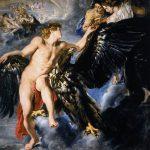 Peter Paul Rubens. Ganimede e l'Aquila, 1611-1612. Olio su tela, cm 203×203. Vienna, Palais Schwarzenberg (in prestito presso The Princely Collection, Liechtenstein)