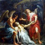 Peter Paul Rubens. Maddalena in estasi, 1619. Olio su tela, cm 295×220. Palais des Beaux-Arts, Lille