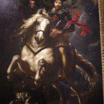 Peter Paul Rubens. Ritratto di Gio Carlo Doria a cavallo, 1606. Olio su tela, cm 265×188. Galleria Nazionale di Palazzo Spinola, Genova