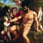 Pietro da Cortona. Pietro da Cortona. La punizione di Ercole, 1635. Olio su tela, cm 300×200. Palazzo Liechtenstein, The Princely Collection, Vienna