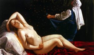 Artemisia Gentileschi. Danae