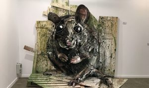 Bordalo II. Decomposed. Square23, Torino
