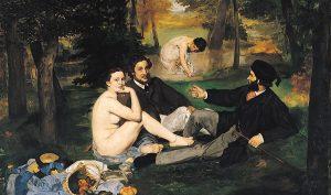 Manet. Colazione sull'erba, 1862-1863