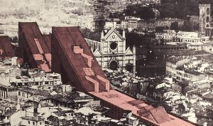 Zzigurat. Linear City, 1969