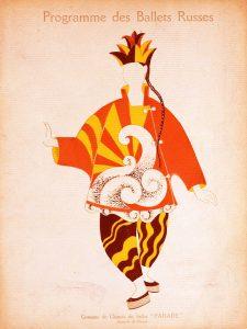 Picasso. Costume per il prestigiatore cinese dal balletto Parade, c. 1917