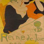 Toulouse-Lautrec. Regina della goia, 1892. Litografia, cm 151 x 1001. Museum of Modern Art, New York. Dono di Mr e Mrs Richard Rodgers 196