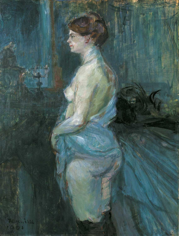 Toulouse-Lautrec. Ballo al Moulin Rouge, 1889-1890. Olio su tela, cm 115×150. Museum of Art, Filadelfia
