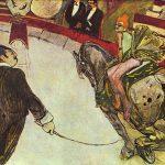 Toulouse-Lautrec. Al Circo Fernando, la cavallerizza, 1888. Olio su tela, cm 102,2x161,3. Art Institute, Chicago