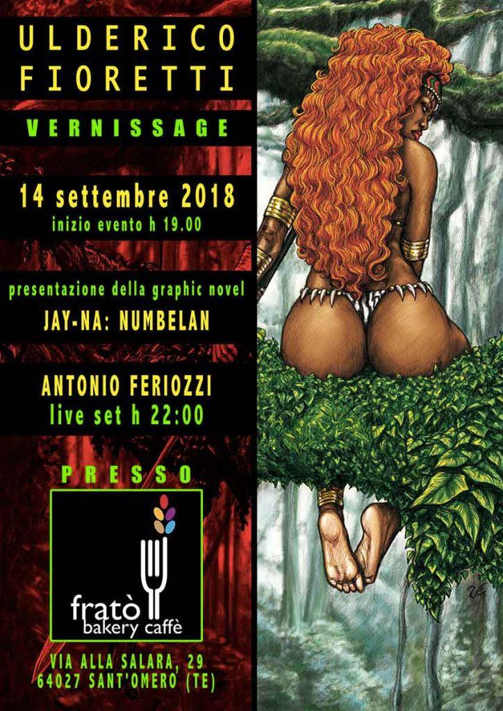 Ulderico Fioretti: vernissage live set Sant'Omero Teramo